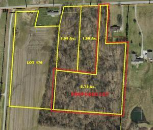 5.73 Acre Proposed Lot on Beacom Road, Delaware County.