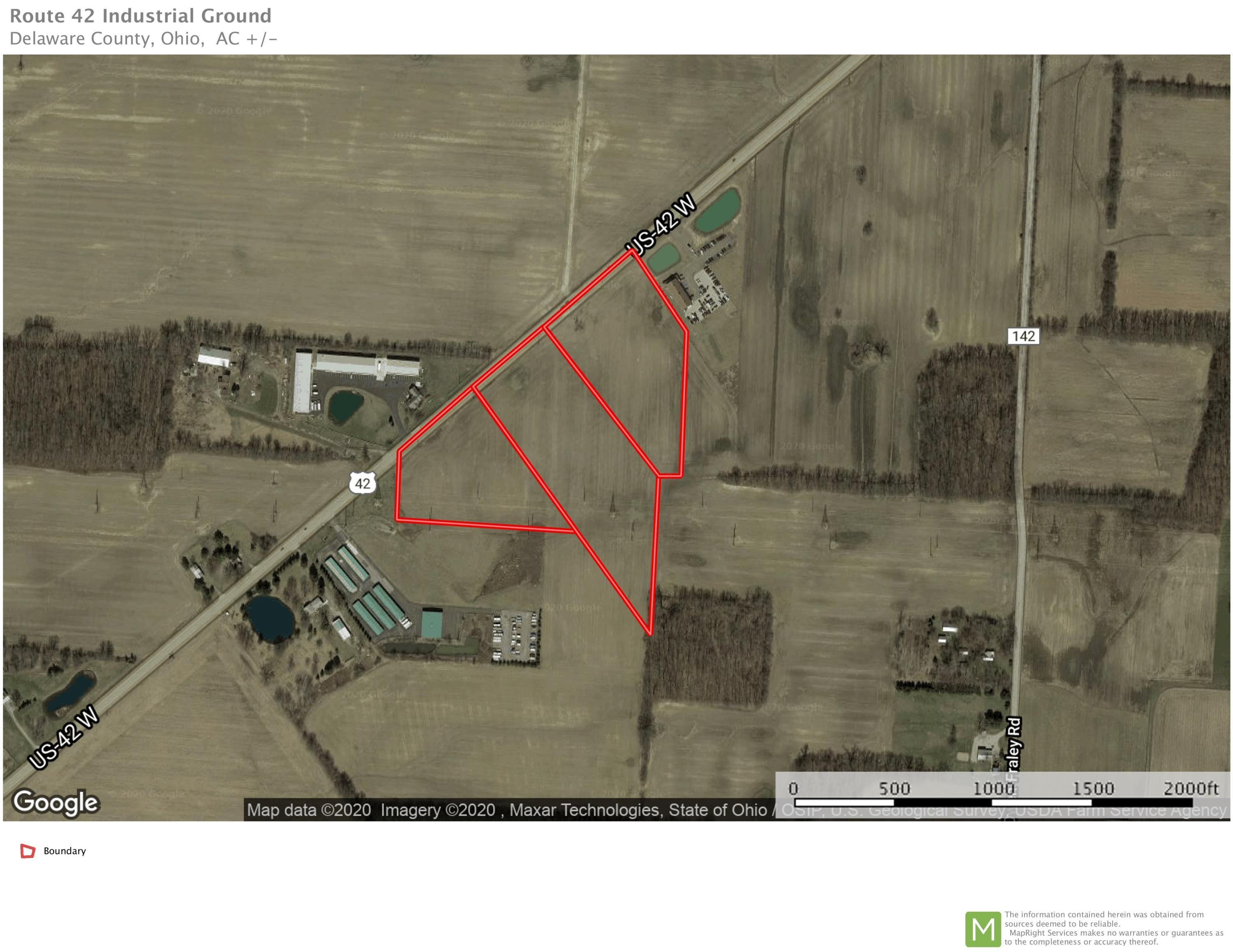 0 US Hwy 42, Delaware, Ohio 43015, ,Land/farm,For Sale,US Hwy 42,220001752