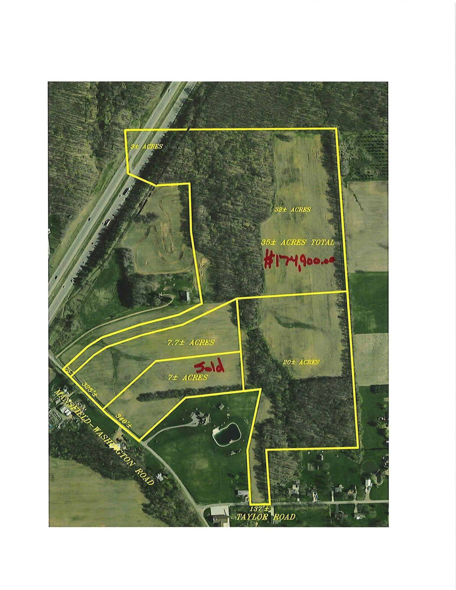 0000 Mansfield Washington Road, Mansfield, Ohio 44903, ,Land/farm,For Sale,Mansfield Washington,220003232