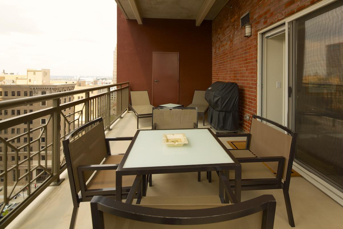 main balcony / patio