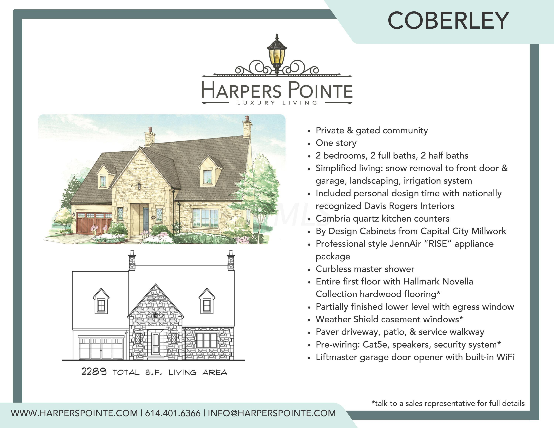 45 Barrington Place, Powell, Ohio 43065, 2 Bedrooms Bedrooms, ,4 BathroomsBathrooms,Residential,For Sale,Barrington,220007799
