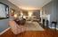 a large living/great room for entertaing