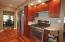 SS appliances with refrigerator, gas range, 2 ovens & Microwave