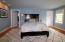 large master bedroom with walk in closet & full master bathroom