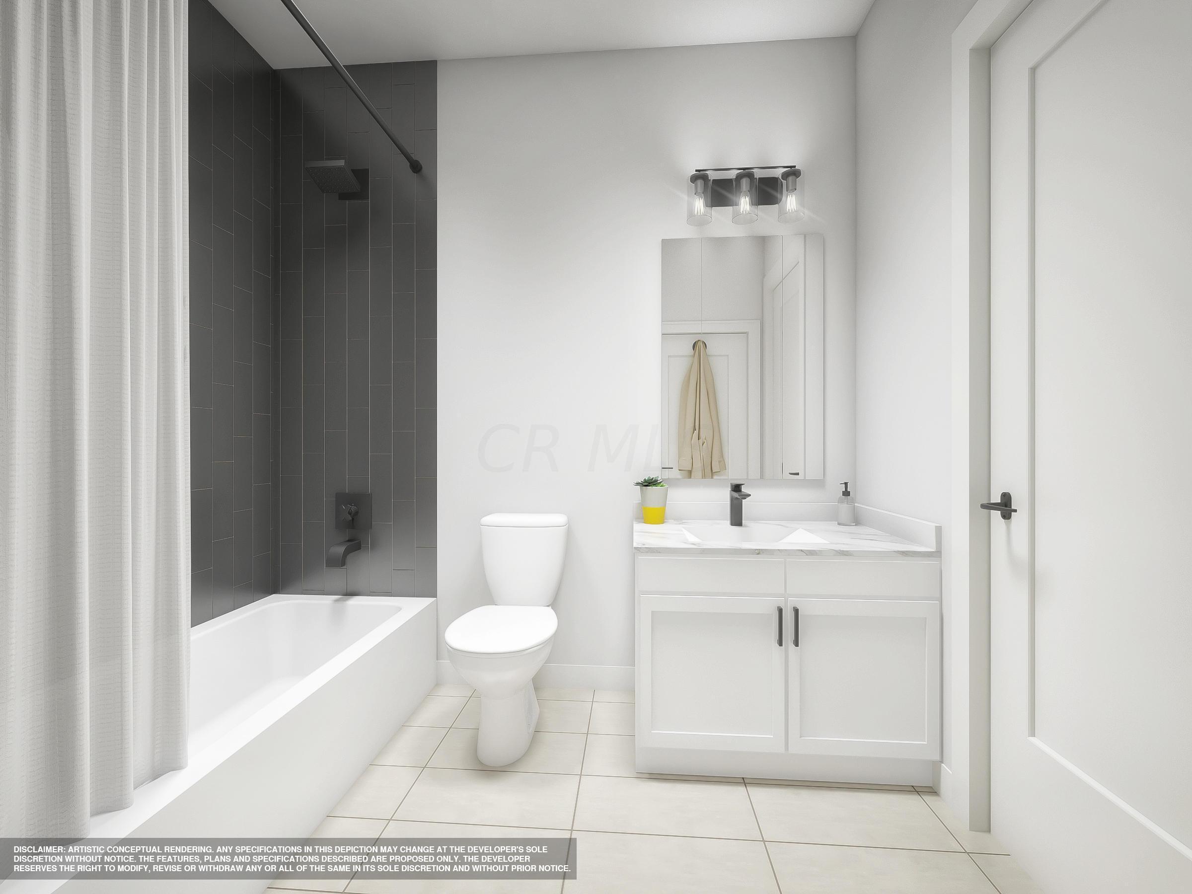 Modern Style Guest Bath