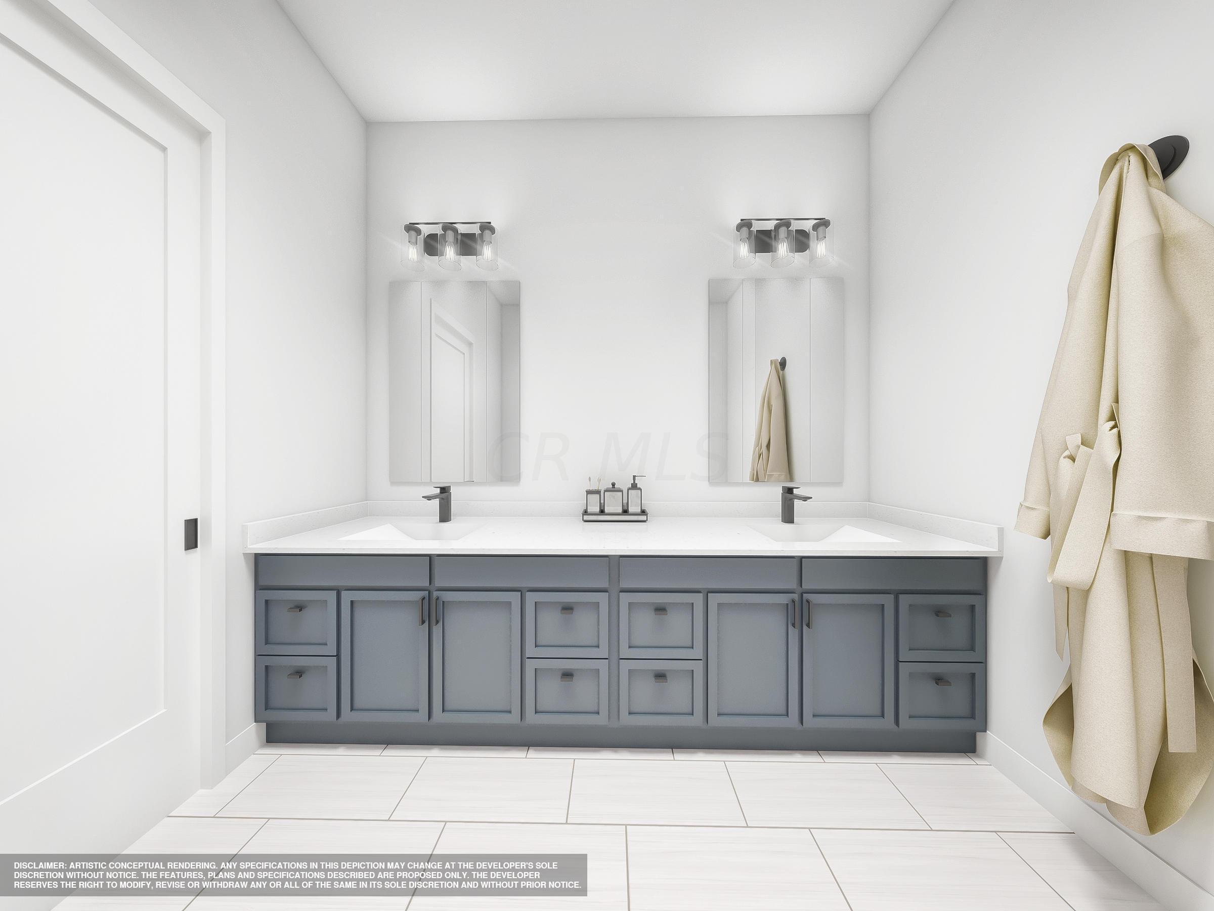 Modern Style Master Bath