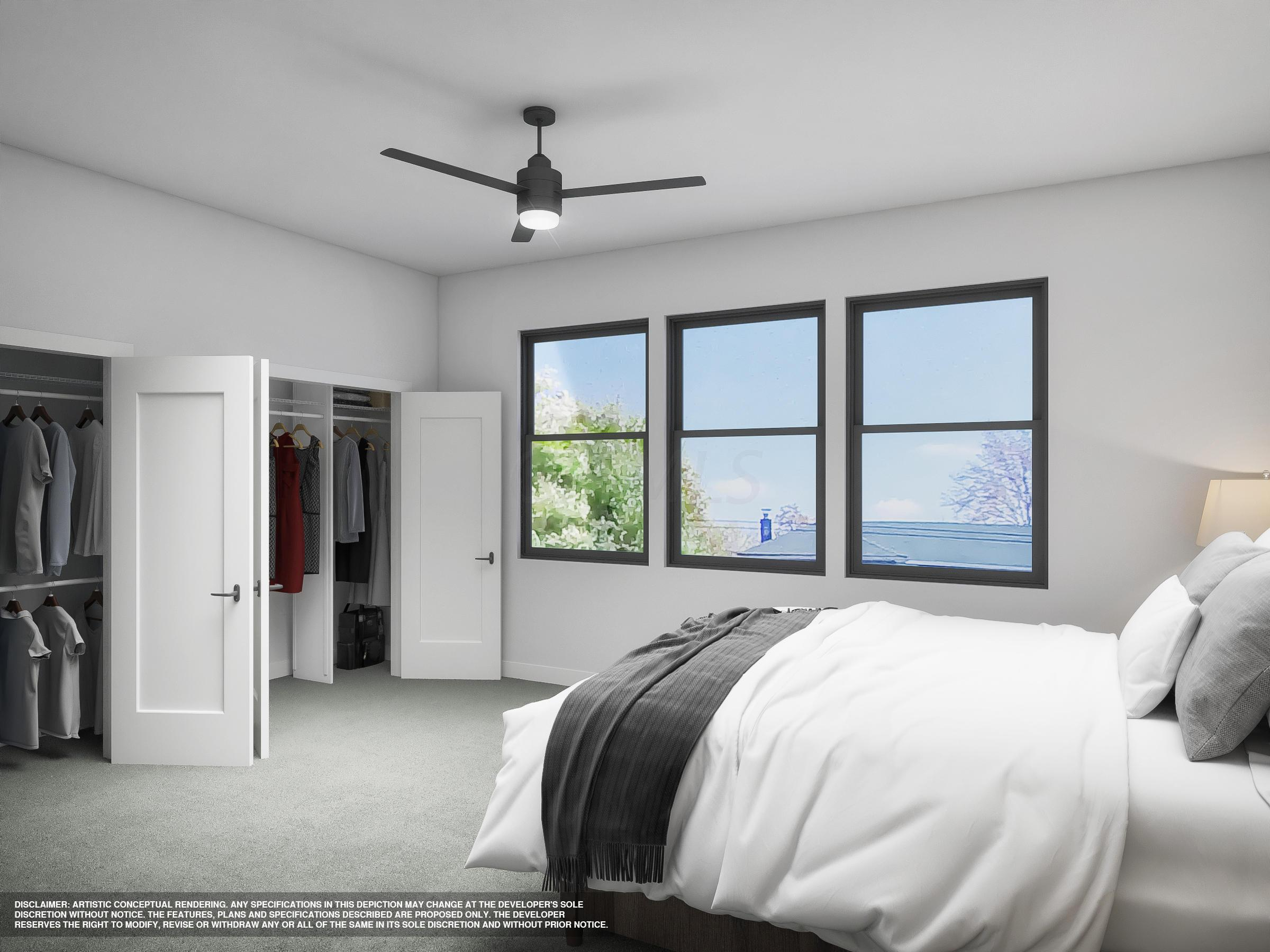 Modern Style Master Bedroom
