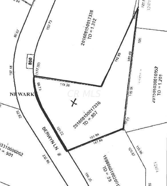 0 Berwyn Lane, Newark, Ohio 43055, ,Land/farm,For Sale,Berwyn,220015433