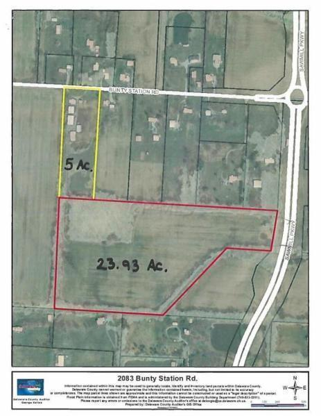 2083 Bunty Station Road, Delaware, Ohio 43015, ,Land/farm,For Sale,Bunty Station,220016650