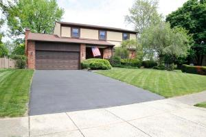 1258 DENBIGH DR., COLUMBUS, OH 43220 - Paver Patio, Stone Walkway, Fenced Yard.