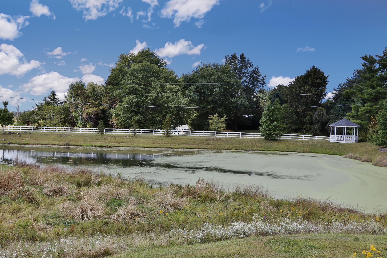 View of Pond & Gazebo