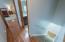 Hardwood flooring continues upstairs!