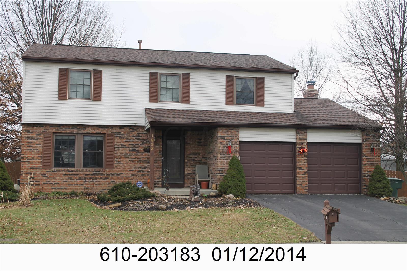1833 Shadow Creek Court, Powell, Ohio 43065, 4 Bedrooms Bedrooms, ,3 BathroomsBathrooms,Residential,For Sale,Shadow Creek,220019940