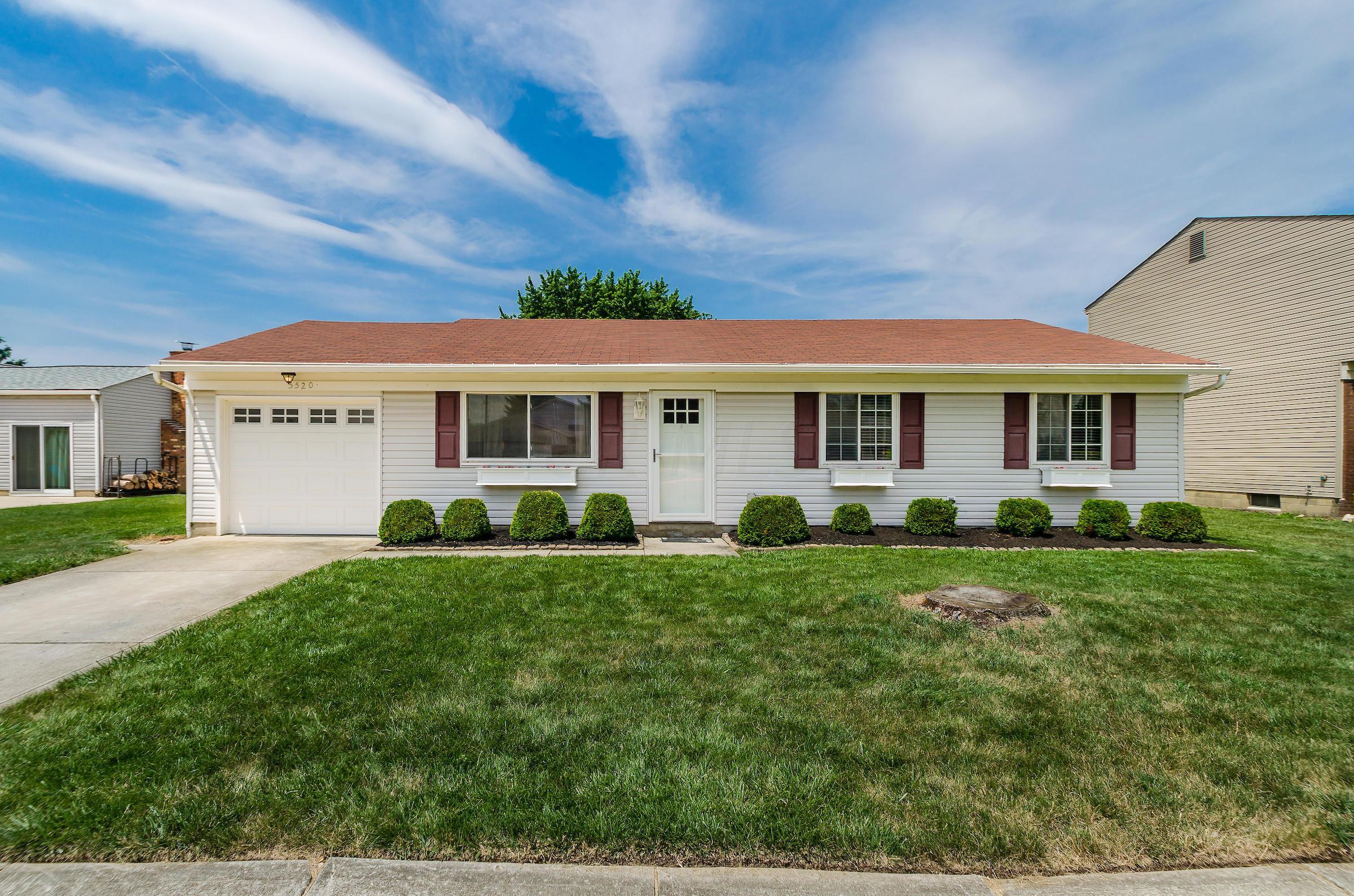 5520 Bluegrass Way, Hilliard, Ohio 43026, 3 Bedrooms Bedrooms, ,1 BathroomBathrooms,Residential,For Sale,Bluegrass,220021061