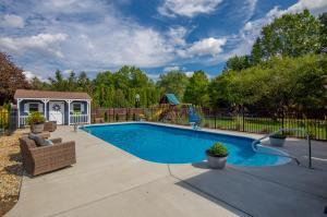 No need to wonder if the pools will be open this summer - you have your own, in-ground, heated salt-water pool! (36'x18', 3-5' deep)
