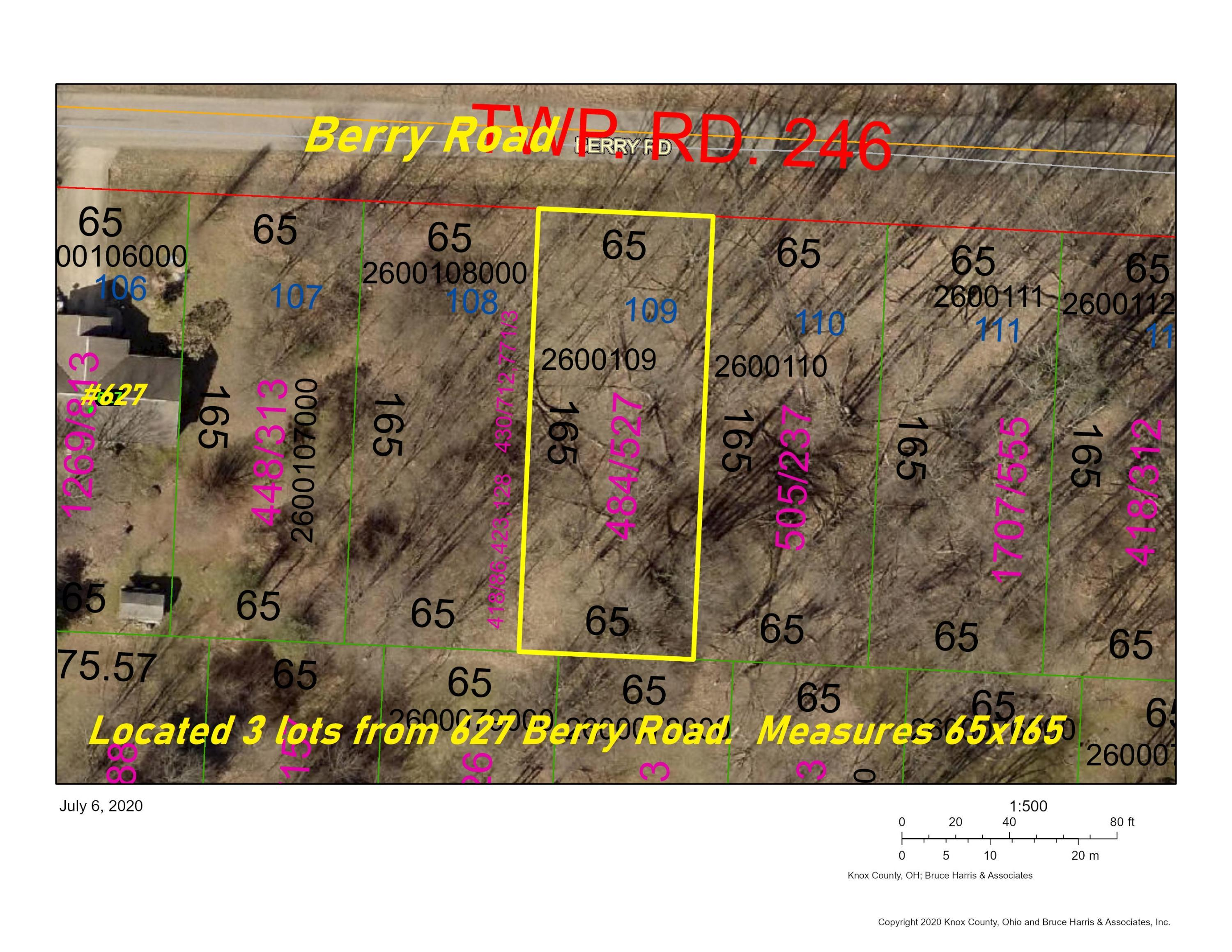 0 Berry Road | Lot 109, Howard, Ohio 43028, ,Land/farm,For Sale,Berry Road | Lot 109,220022390