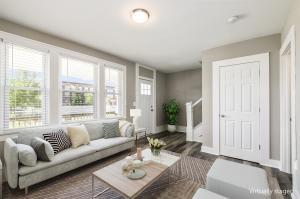 Living Room - Virtually Staged