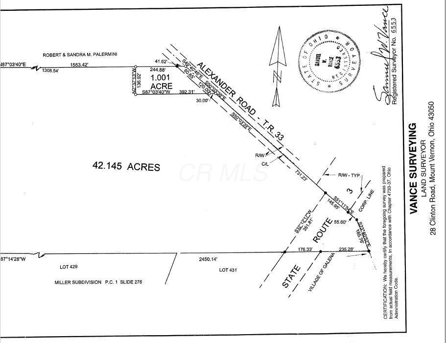 2000 Alexander Road, Galena, Ohio 43021, ,Land/farm,For Sale,Alexander,220024142