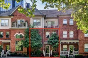 Beautiful townhome overlooking Goodale Park