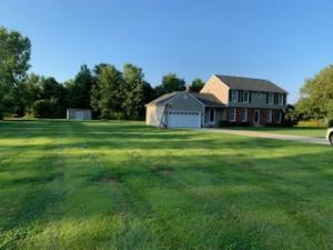 Gorgeous home offering 2.957 acres in Johnstown!