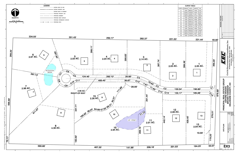 185803-Site Plan 11X17 BW  No Aerial rev