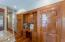 Cherry flooring and cabinetry...stunning