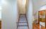 Back stairs to bedrooms
