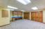 Fitness area, craft room, home office, home school, your space, your choice