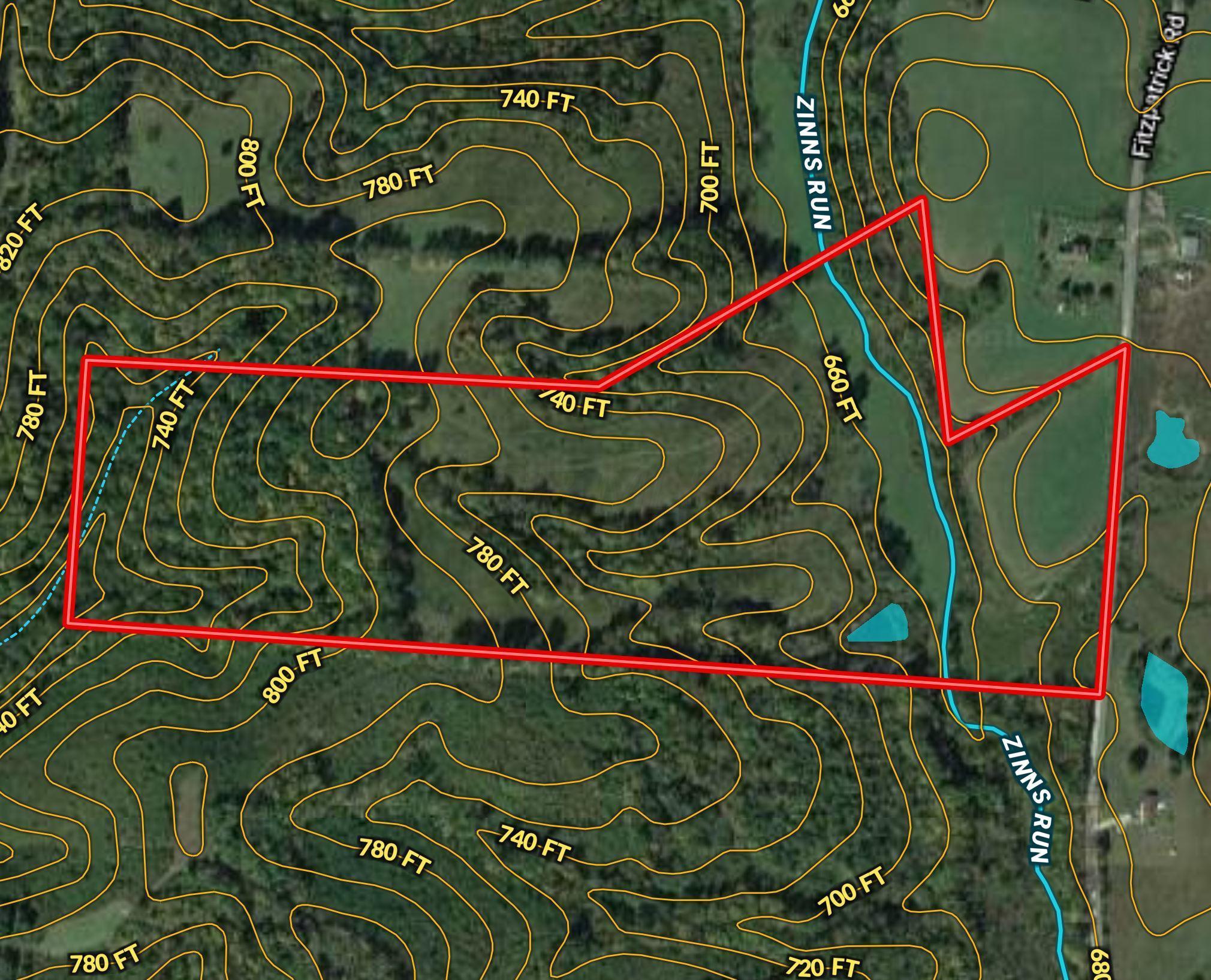 0 Fitzpatrick Road, Wilkesville, Ohio 45695, ,Land/farm,For Sale,Fitzpatrick,220030699