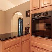 stove top and built in oven