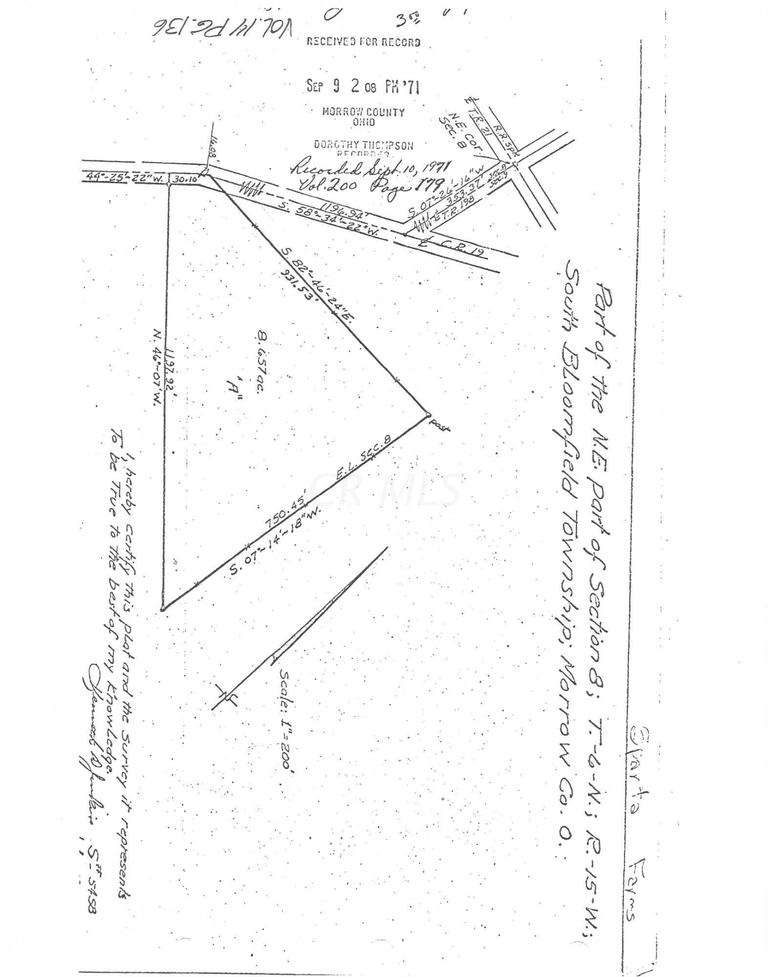 6829 County Road 19, Marengo, Ohio 43334, ,Land/farm,For Sale,County Road 19,220032038