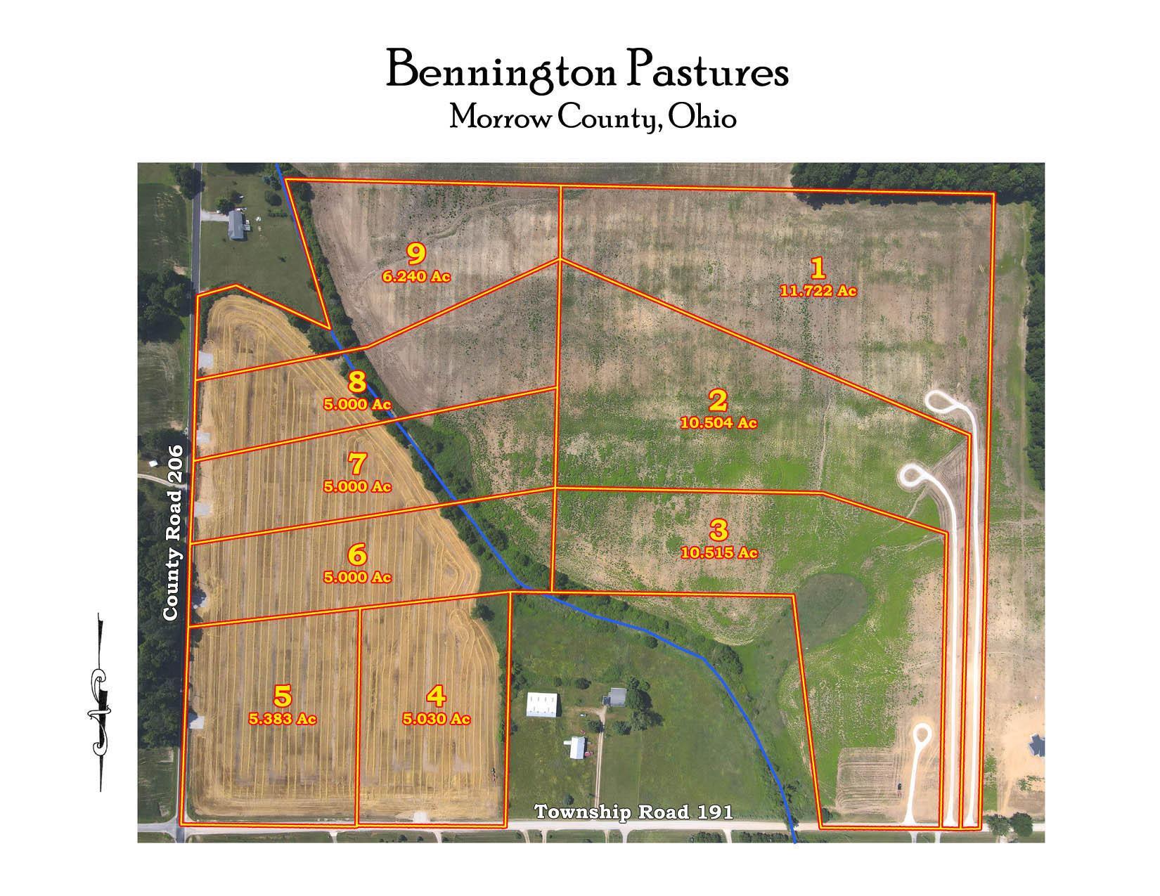 Bennington Pastures Drone Aerial for mls