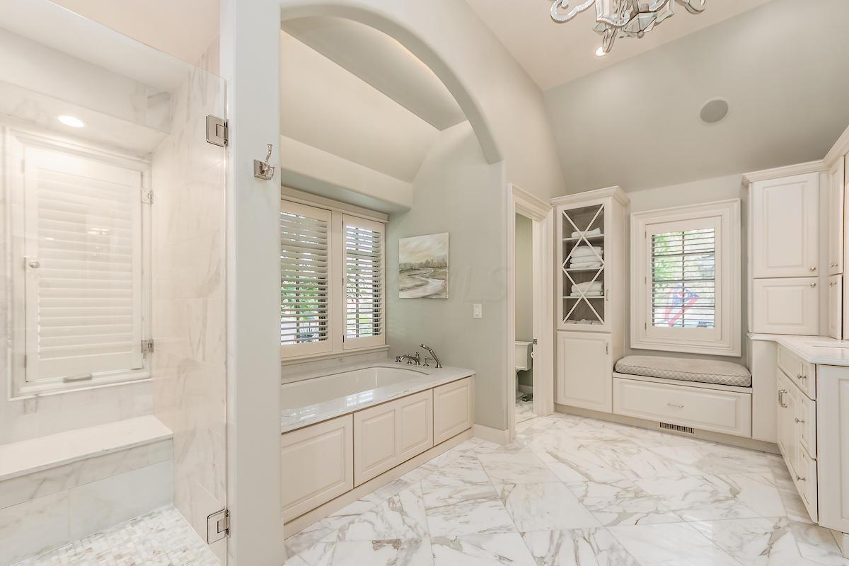 Owner's bathroom w/radiant flooring