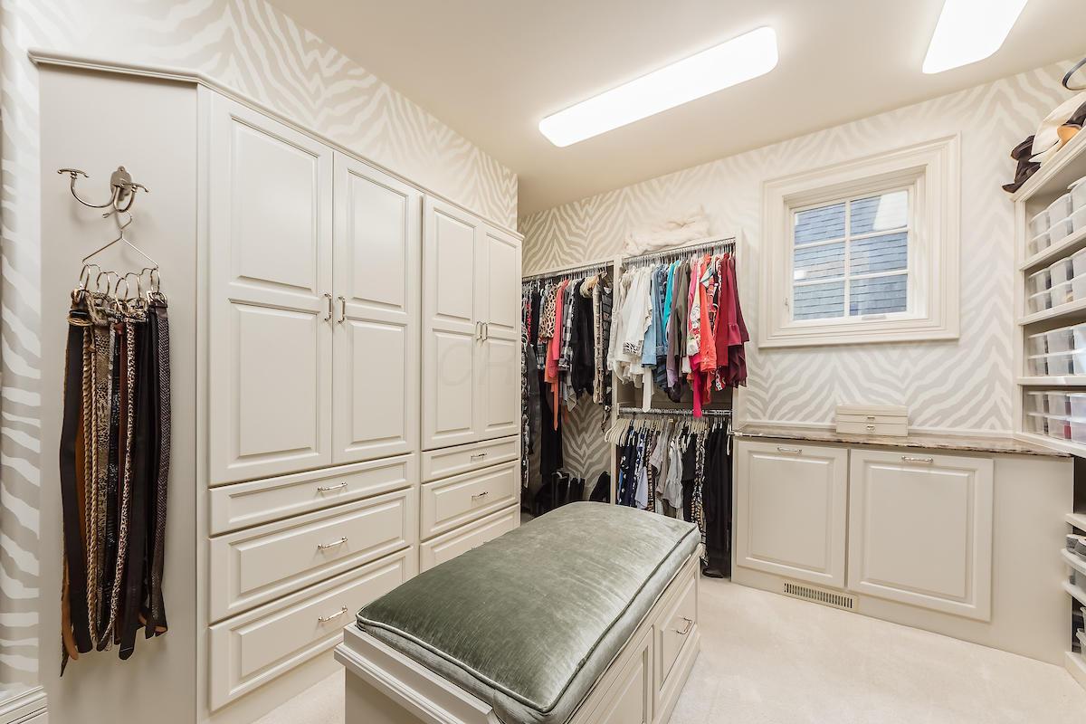 Owner's dressing room