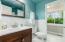 En-suite bathroom with walk-in closet and silent fan