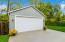 Brand new 20x22 Garage with 8 foot door