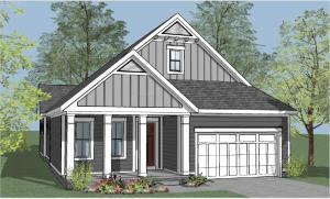 Builder Rendering- Home is under construction.