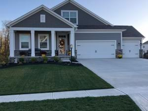 "A perfect ""10"" describes this lovely ranch home, with 3 finished levels, 4 bedrooms, 4 baths, huge great room w/ fireplace open to a designer kitchen w/ built-in stainless appliances glass tile and immaculate white granite countertops w/bar seating, Finished basement recreation room 3485 SF plus huge storage areas!!"
