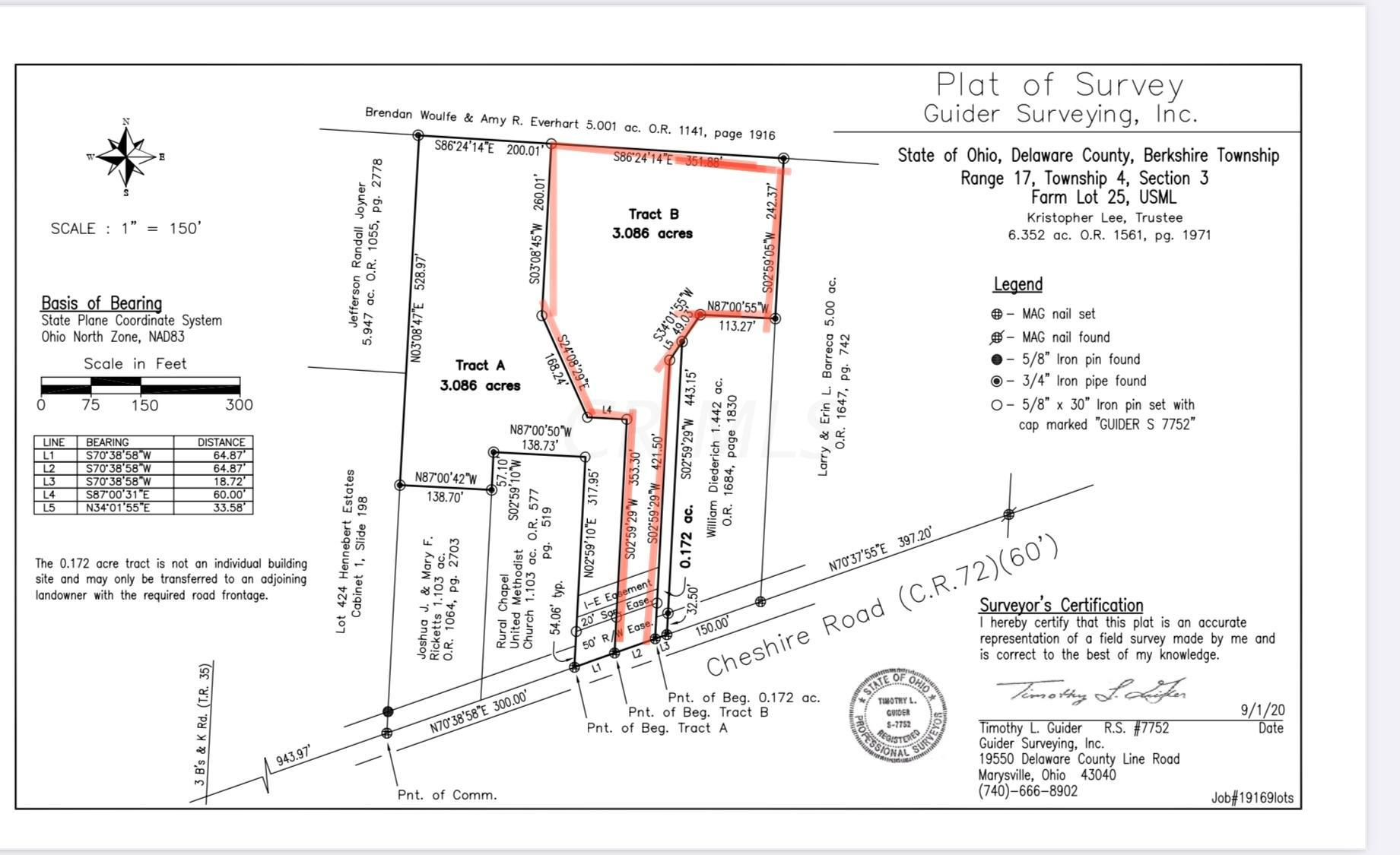 0 Cheshire Road, Galena, Ohio 43021, ,Land/farm,For Sale,Cheshire,220040739