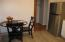 Kitchen large enough for table and chairs