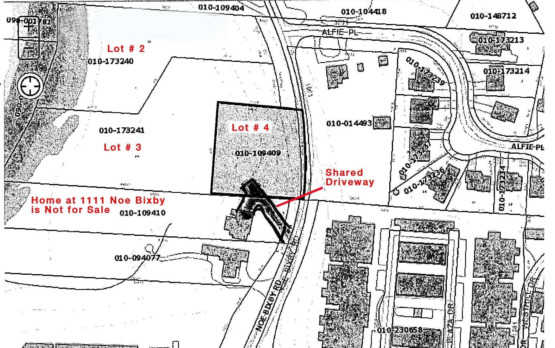 __map illustration showing shared drivew