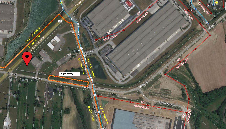 Utilities Map 0 London Groveport Rd