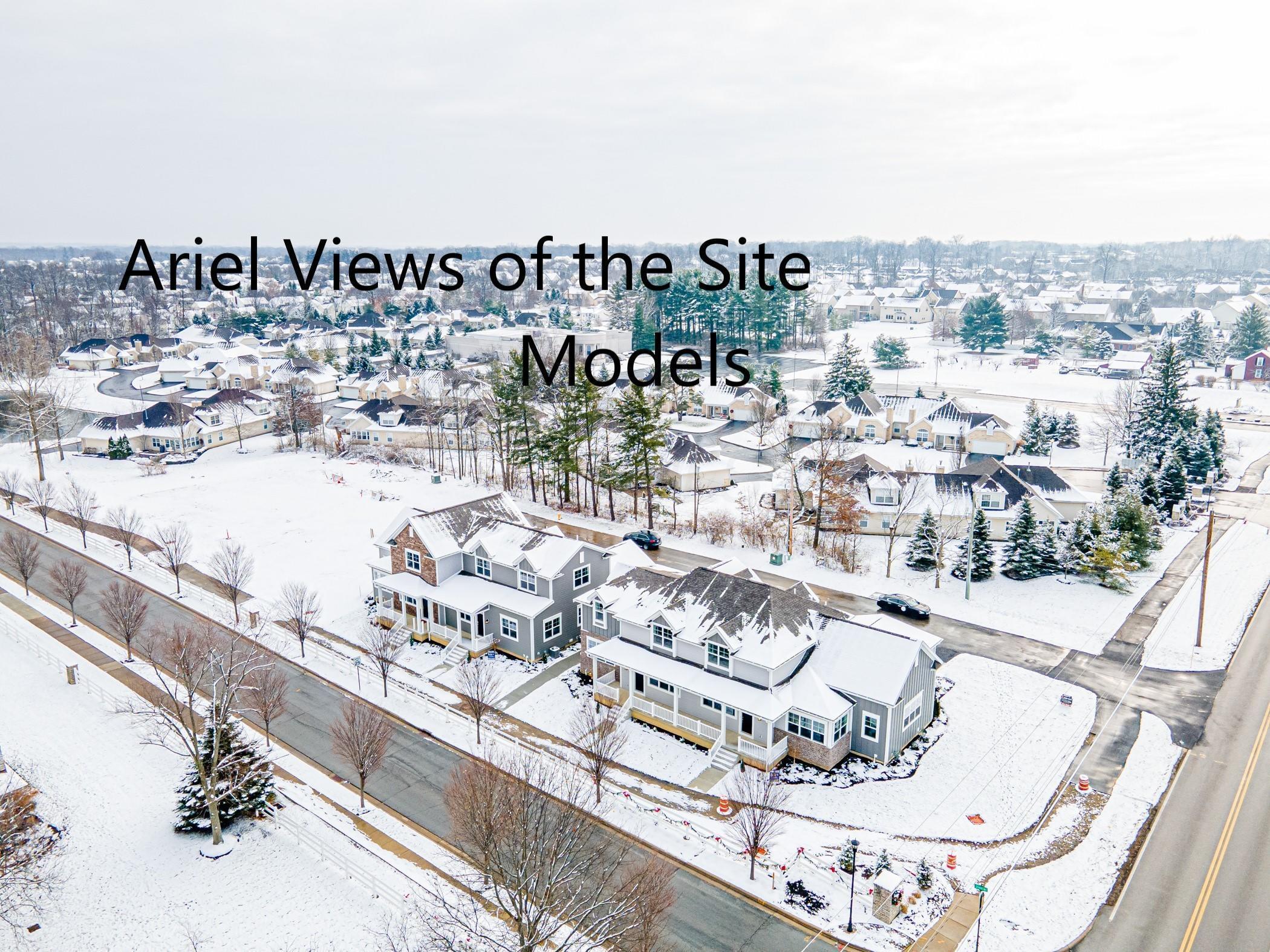Ariel View of Models