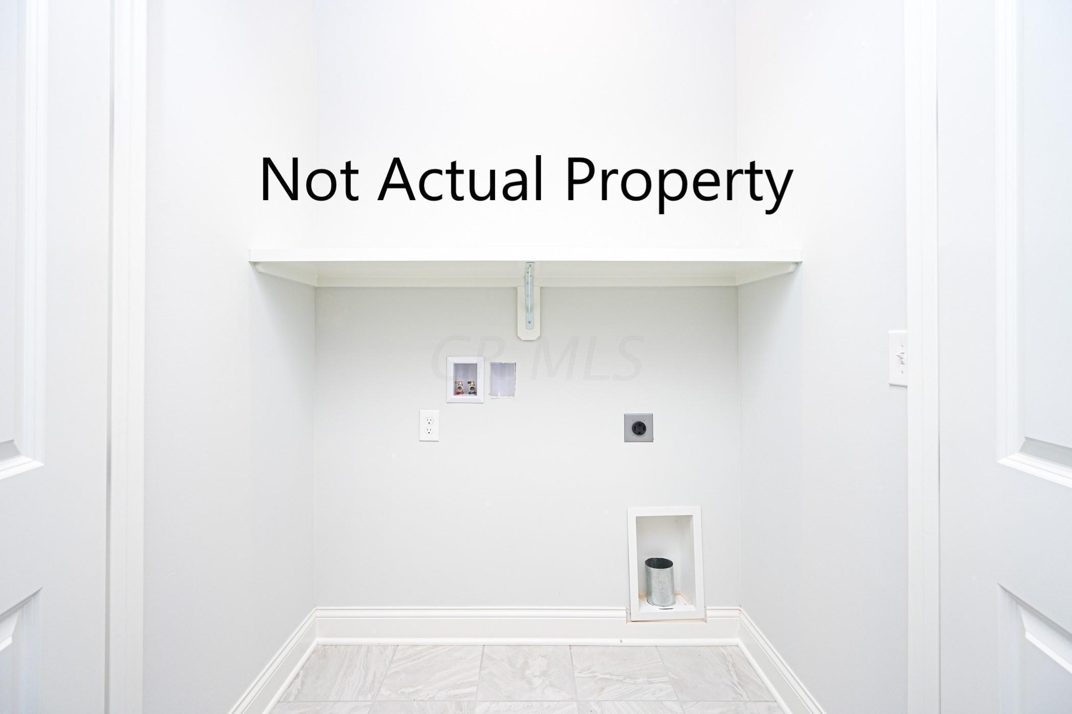 Viptual Laundry Closet Model