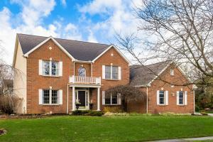 Front view of this elegantly updated home!