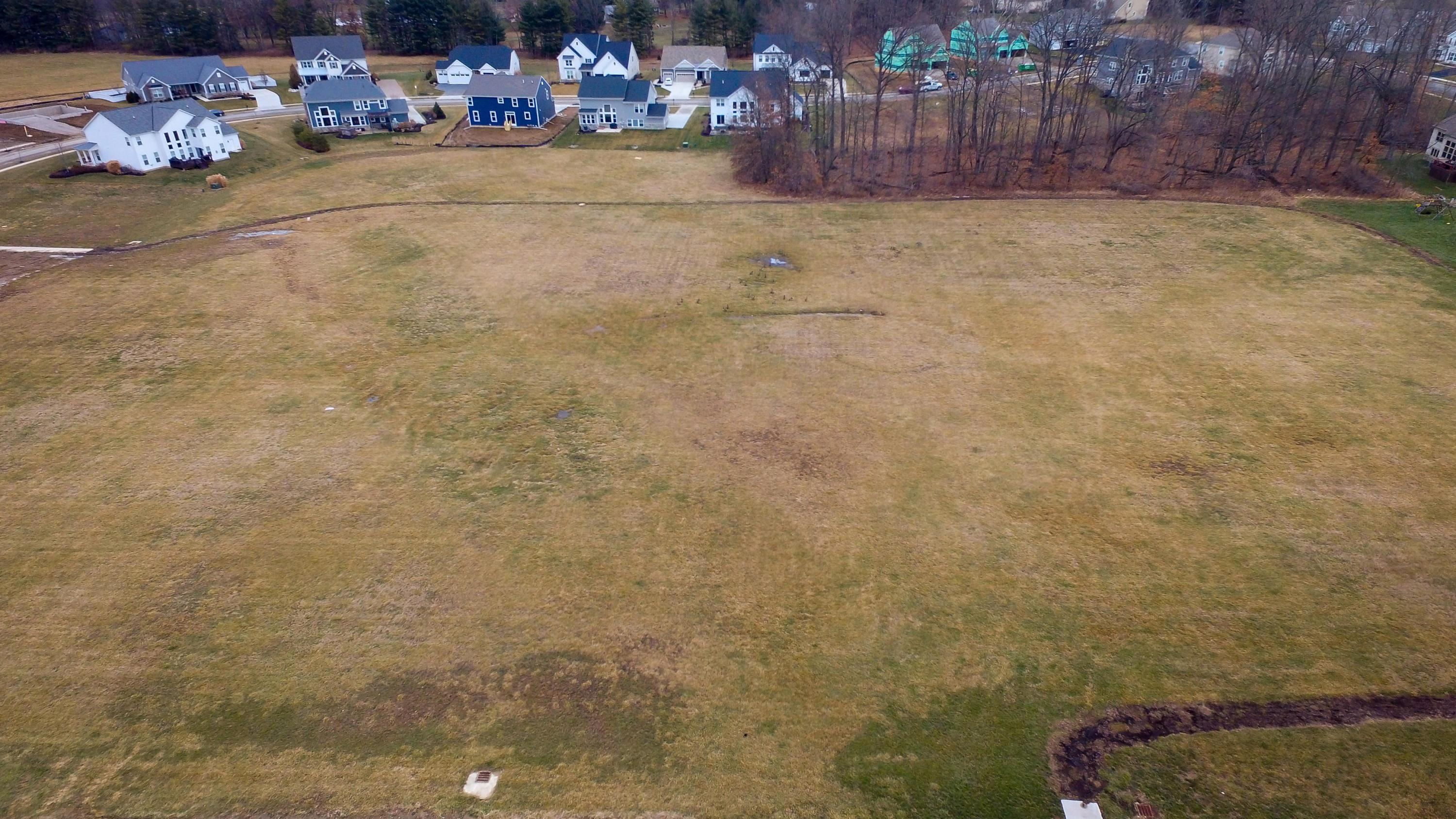 Green space behind lot