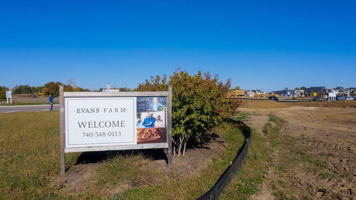Evans Farm Entrance