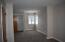 Master bedroom has 4 windows and double closets and new carpet