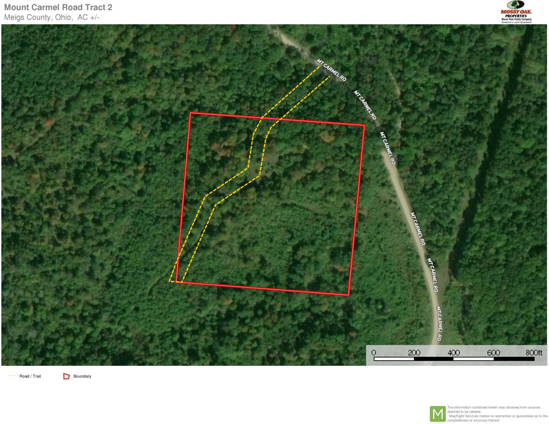 Mt Carmel Road Tract 2 Aerial