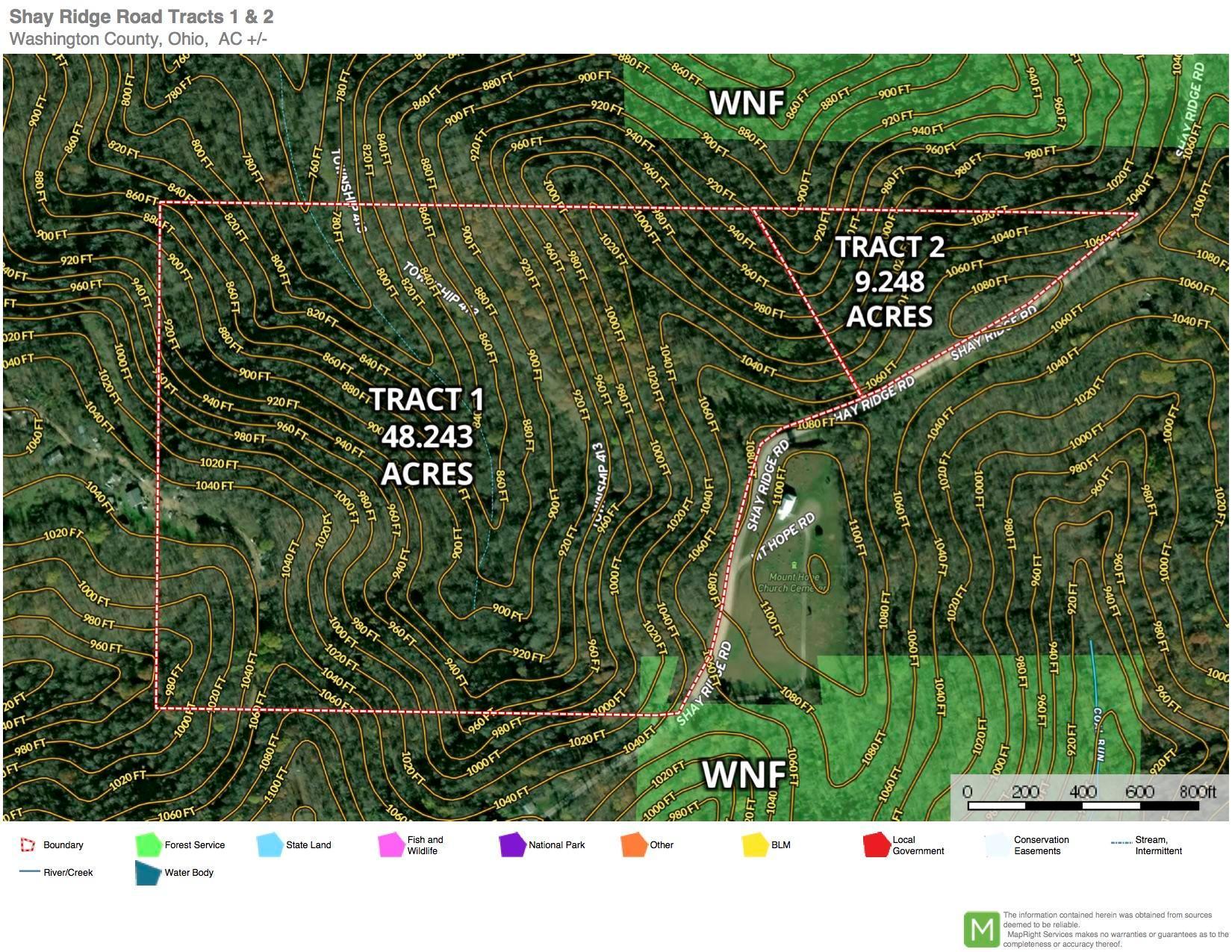 Shay Ridge Aerial